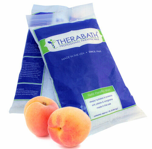 WR Medical Paraffin Wax Refill- Therabath 1 lb. Peach-E Beads