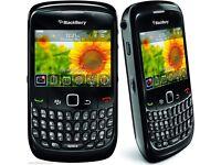 BLACKBERRY curve 8520 - Black - (UNLOCKED) Mobile smartphone - Grade B