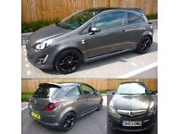 """2013 63 VAUXHALL CORSA 1.2 LIMITED EDITION 3DR HATCH BACK """"OMG"""" NUMBER PLATE"""