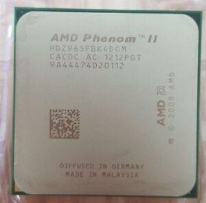 CPU - AMD Phenom II Blk Edition - X4 cores 3.4 GHz - w/Heatsink