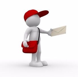 Leaflet Distributers Wanted Dorchester, Weymouth, Swanage, Blandford & Poole