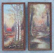 Pair Paintings