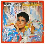 Aretha Franklin Signed