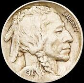 1916-P Buffalo Nickel