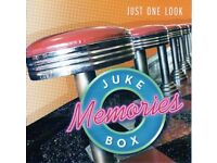 4 double jukebox memories cds.pre owned