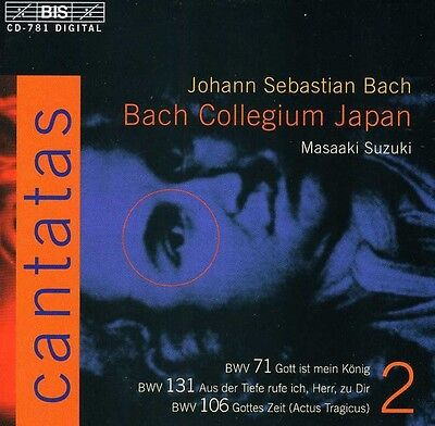 J.s. Bach: Cantatas (Bach Collegium Japan Suzuki) (Us Import) Cd New