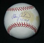 Gary Carter Signed Baseball