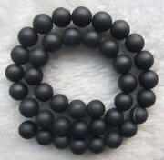 10mm Black Agate
