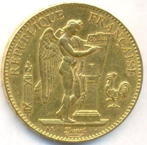 100 Francs Gold Ebay