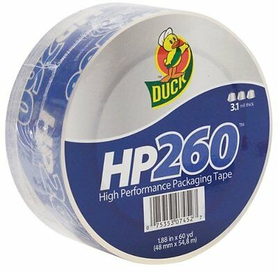 Duck Brand Hp260 High Performance 3.1 Mil Packaging Tape 1.88-inch X 60-yard Ro