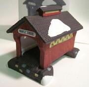 Dept 56 Red Covered Bridge