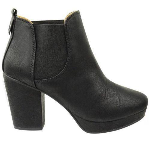 heeled chelsea boots womens shoes boots ebay