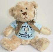 Personalised Christening Teddy