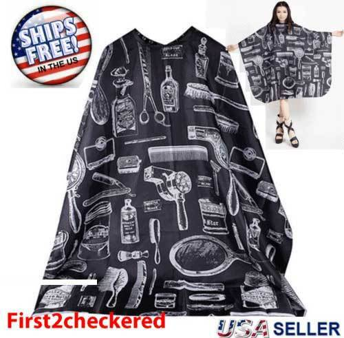 Hair Cutting Cape Large Salon Hairdressing Hairdresser Gown
