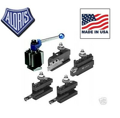 Aloris Ca Tool Post Indexable Starter Set 4 Holders Ca-i-set