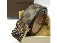 Louis Vuitton LV Man Belt