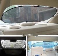Visière pare-Soleil en toile pour vitre arrière Automobile VVV