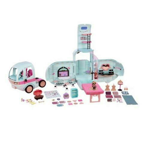 L.O.L. Surprise! 2-in-1 Glamper Fashion Camper with 55+ Surprises NEW!!!