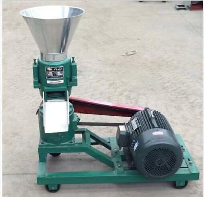 3kw 120 Model Pellet Mill Machine Feed Pellet Mill Machine With Motor