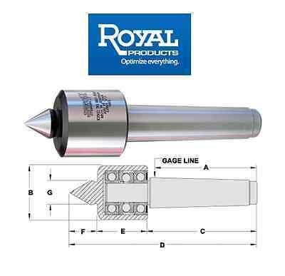 Royal Value-turn Live Center Morse Taper 4
