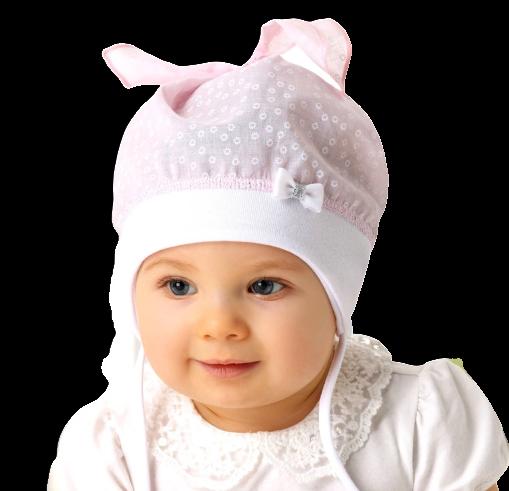AJS Baby Mädchen Mütze Sommermütze Kopftuch Tuchmütze Schleife Neu