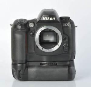 Nikon D100 6.1 MP Digital SLR Camera with a MB-D100 Battery Grip