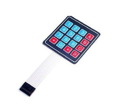 4x4 Matrix 16 Key Membrane Switch Keypad Keyboards For Arduinoavrpic C7