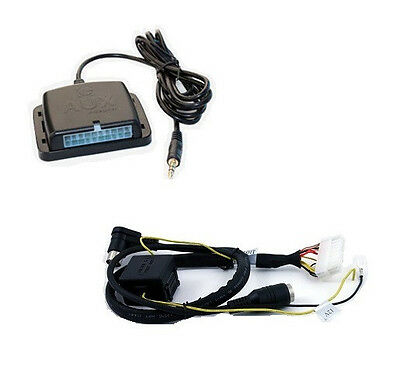 Volvo 00+ radio auxiliary audio input interface. Add aux MP3 to factory stereo ()