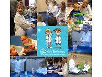FREE Science Stay and Play with Mini Professors South Reading for Great British Science Club