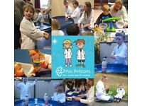 Mini Professors Saturday Science Class 2-5 year olds