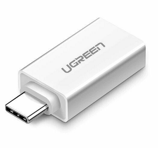 UGREEN Adattatore da USB 3.0 a USB Type-C 3.1 - Bianco