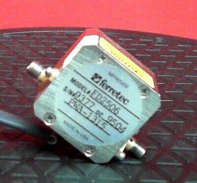 Ferretec Fd2506 9377 Yig Filter 0.8-2.5ghz