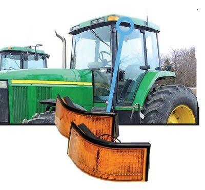 John Deere 7000-9020 Series Tractor 4700 4710 Sprayer Cab Corner Light Amber