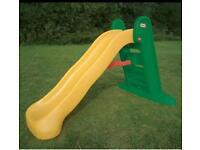 Little tikes garden slide