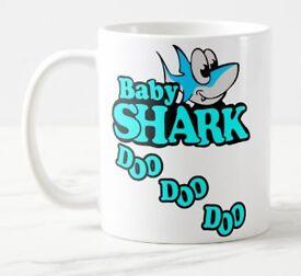 Personalised Baby Shark Mugs