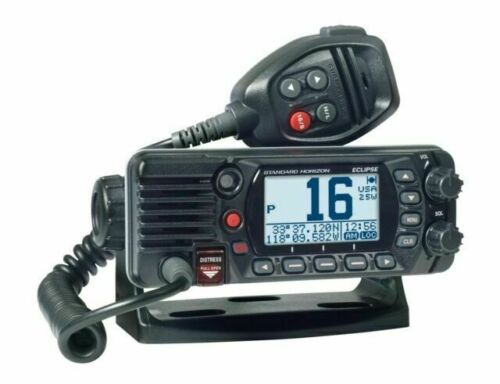 Standard Horizon Marine VHF Radio GX1400G With Built In GPS Emergency Calling