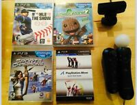 Play Station Move System and Game