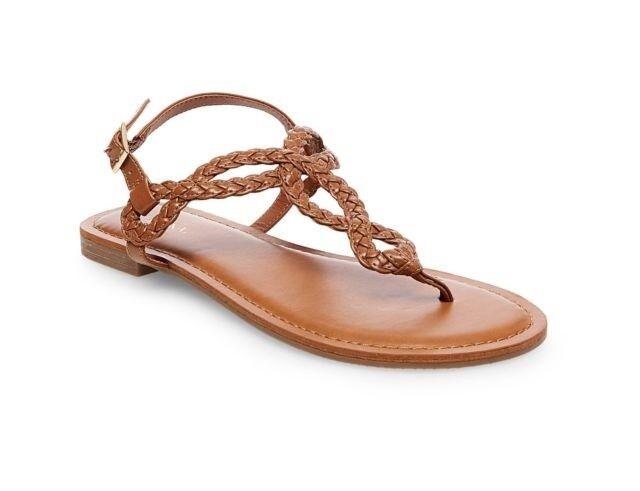 Merona Women's Cognac Jana Quarter Strap Sandals Sizes 8 NWT