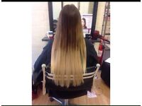 Hair extensions & hairdresser quality brand name hair