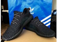 Yeezy boost, pirate black (used)