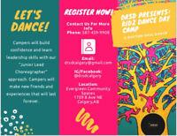 KIDZ DANCE DAY CAMP!!!