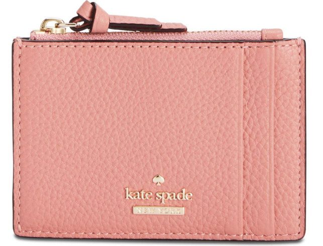 Kate Spade Jackson Street Clarke Top Zip Wallet Card Case