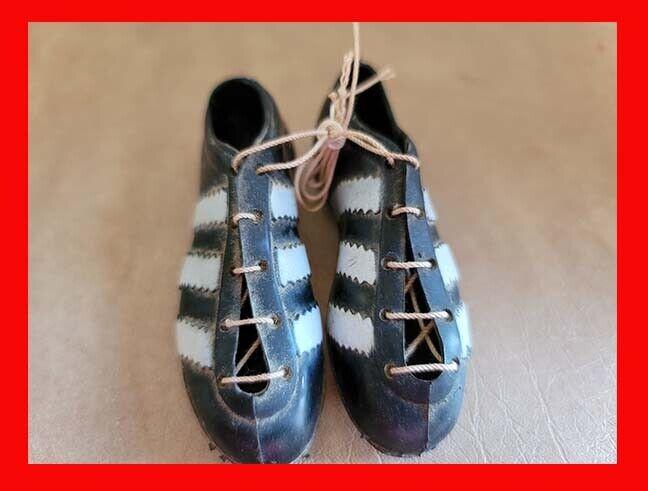 Vintage Adidas Miniature Shoes Mini Football Soccer Retro Small Spike Soles
