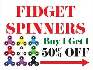 LARGE SELECTIONS OF FIDGET SPINNERS AND FIDGET CUBES
