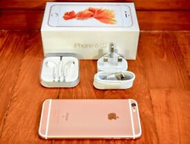Unlocked iPhone 6s 64GB Rose Gold in Excellent Condition