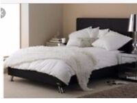 Black Double Bed. Originally from George Asda. Collection only.