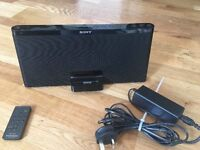 Sony Personal Audio Docking System With Remote and Super Bass