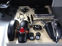 Take off parts from 2012 streetglide flhx matte black