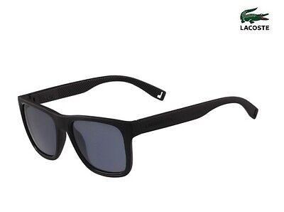 LACOSTE Sunglasses L816S 001 Matte Black (Lacoste Wayfarer Sunglasses)