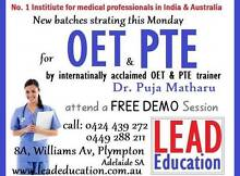 New OET and PTE batch... Don't miss Plympton West Torrens Area Preview
